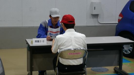 第15回東京都自動車整備技能競技大会での様子2